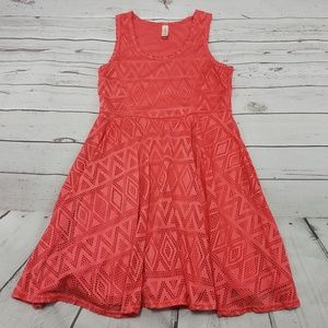 No Boundaries Dress Size Large Womens A Line Used